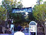 The Unknown Entrance Banner