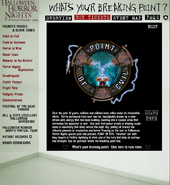 HHN 2004 POE Website Description