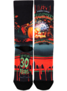 Retro Halloween Horror Nights 1992 Pumpkin Socks