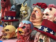 Holidayz In Hell Masks
