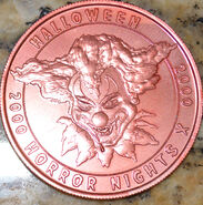 HHN X Pink Parade Coin Front