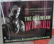 Leatherface 2007 Hollywood sign