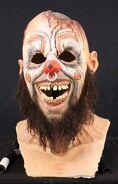 Plate Head Clown Mask