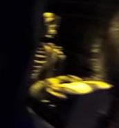 Skeleton Typist Static-Figure
