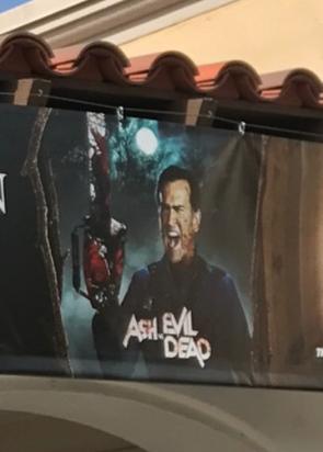 HHN 2017 Ash Vs. Evil Dead Front Gate Banner.png
