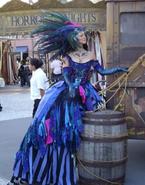Carnival Peacock Girl 6