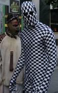 Skeleton Checkerboard Guard