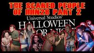 More Scare Reactions From Halloween Horror Nights 2018 Universal Orlando
