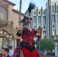 Stiltwalking Zebra Girl 17