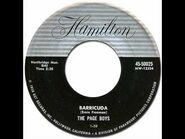 THE PAGE BOYS - Barricuda -Hamilton -50025- 1960
