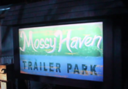 Mossy Haven Trailer Park Sign