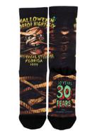 Retro Halloween Horror Nights IX 1999 Mummy Socks