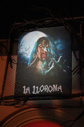 HHN 23 La Llorona Front Gate Banner