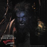 HHN The Wolfman