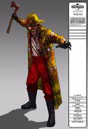 Fire Fighter Clown Concept Art