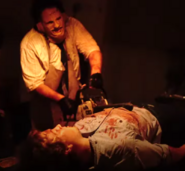 Leatherface Killing Franklin Hardesty