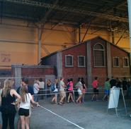 The Walking Dead End of the Line Facade (Orlando)