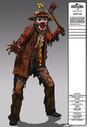 Hobo Clown Concept Art