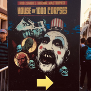 House of 1000 Corpses Entrance Sign
