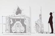 Krampus in Chimney Effect Concept Art