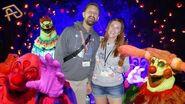 HHN28 - Universal Orlando Halloween Horror Nights 2018 - bumping into Tim & Jenn from TheTimTracker