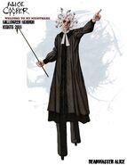 Headmaster Alice Cooper Concept Art
