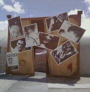 Dead exposure facade