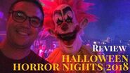 Full Review of Halloween Horror Nights 2018