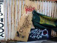 HHN XIV Fright Yard Graffiti 4