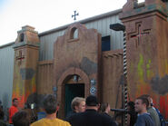 Demon Cantina Facade Entrance