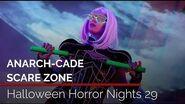 Anarch-Cade Scare Zone at Halloween Horror Nights 29 Universal Orlando