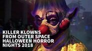 Killer Klowns From Outer Space Scare Zone Halloween Horror Nights 28