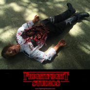 "Screenshot 2020-10-15 FrightNight Studios, LLC on Instagram ""From HHN 26 The dead security guard prop that we made for the -...-"