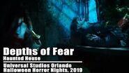 Depths of Fear House, Universal Orlando Halloween Horror Nights 2019