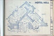 Hotel Hell Layout