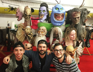 HHN Masks (2019 Hollywood)