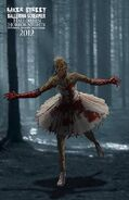 Ballerina Screamer Concept Art