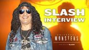 Slash Interview About His New Maze Music at Halloween Horror Nights 2018