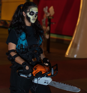 Chainsaw Skeleton 35