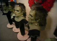 HHN 1995 Frankenstein Masks