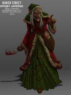 Mother Christmas Concept Art