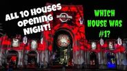 HHN - All Houses Reviewed Halloween Horror Nights 2018