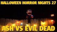Ash vs Evil Dead Maze Highlights Halloween Horror Nights 27