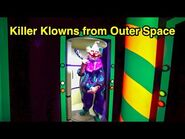 -NEW- Killer Klowns from Outer Space - HHN 2019 (Universal Studios Hollywood, CA)