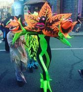 Asylum In Wonderland 3D Flower Monster 3
