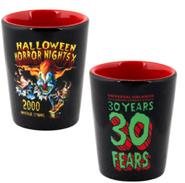 Retro Halloween Horror Nights X 2000 Jack Shot Glass