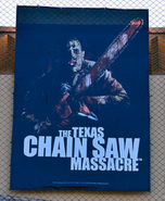 HHN 26 Texas Chainsaw Massacre Front Gate Banner