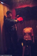 Ash Williams Cutting Off Ambers Head