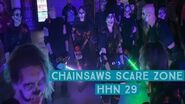 Chainsaws Scare Zone 2019 Halloween Horror Nights 29 Universal Orlando
