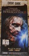 HHN 22 Walking Dead Event Guide